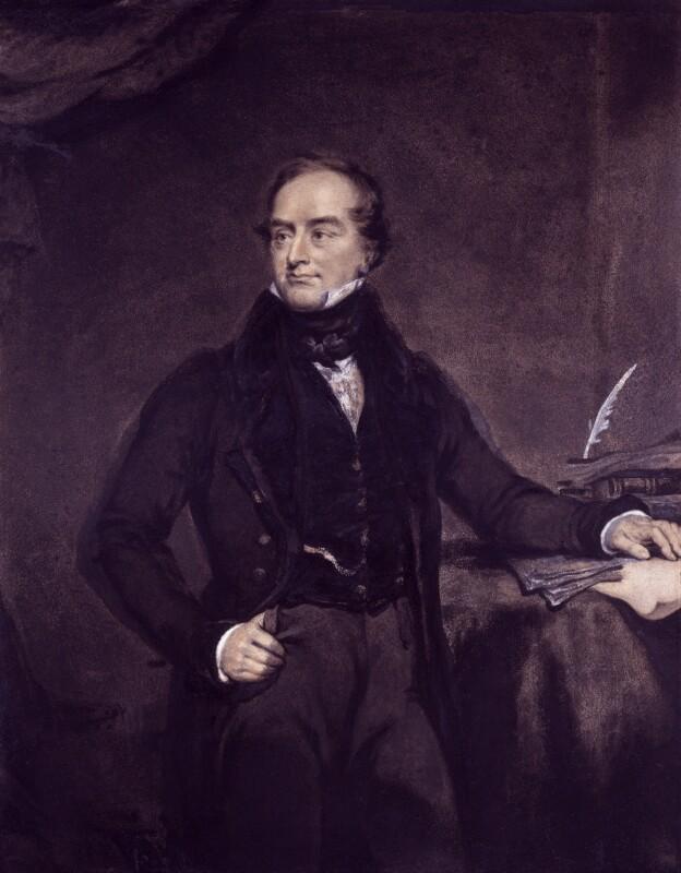 John Charles Spencer, 3rd Earl Spencer, by Charles Turner, 1832 - NPG 1318 - © National Portrait Gallery, London