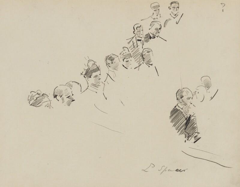 John Poyntz Spencer, 5th Earl Spencer, by Sydney Prior Hall,  - NPG 2346 - © National Portrait Gallery, London