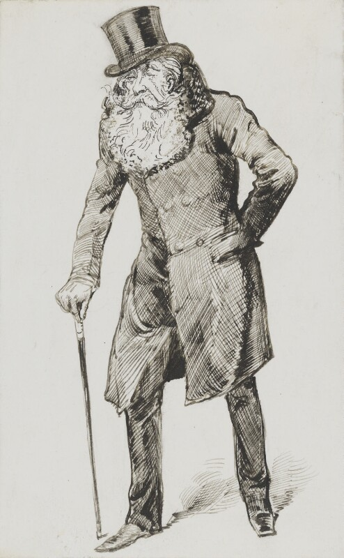 John Poyntz Spencer, 5th Earl Spencer, by Harry Furniss, 1880s-1900s - NPG 3608 - © National Portrait Gallery, London