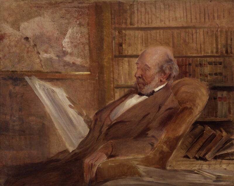 Herbert Spencer, by John McLure Hamilton, circa 1895 - NPG 4092 - © National Portrait Gallery, London