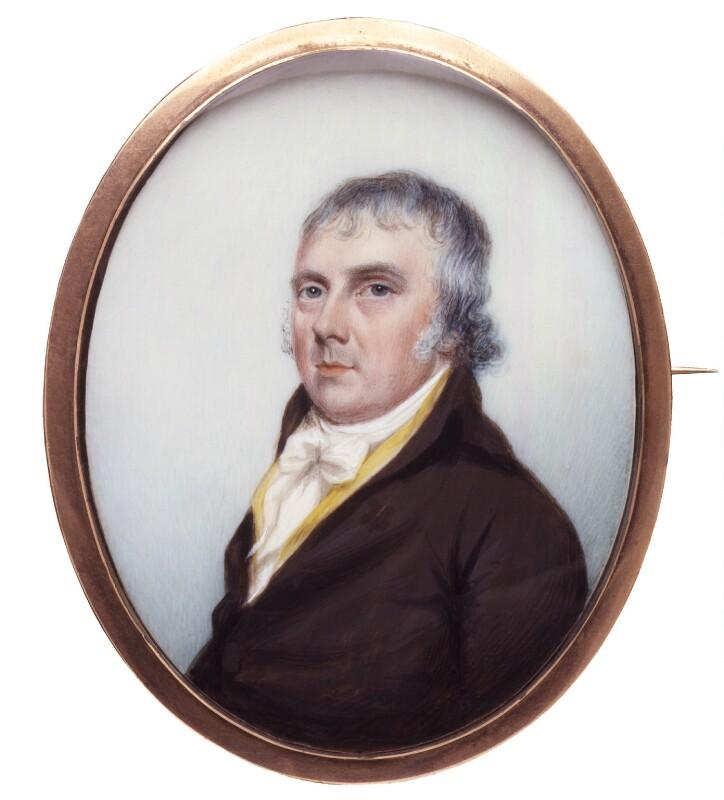 Josiah Spode I, by Unknown artist, circa 1790-1795 - NPG 4586 - © National Portrait Gallery, London