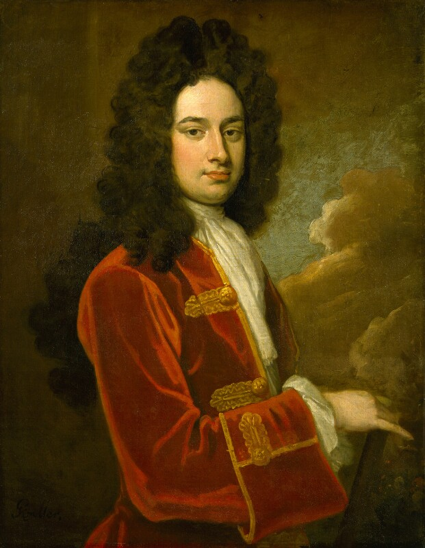 James Stanhope, 1st Earl Stanhope, by Sir Godfrey Kneller, Bt, circa 1710 -NPG 3225 - © National Portrait Gallery, London