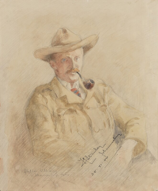 Ferdinand Charles Stanley, by Inglis Sheldon-Williams, 1900 - NPG 4039(6) - © National Portrait Gallery, London