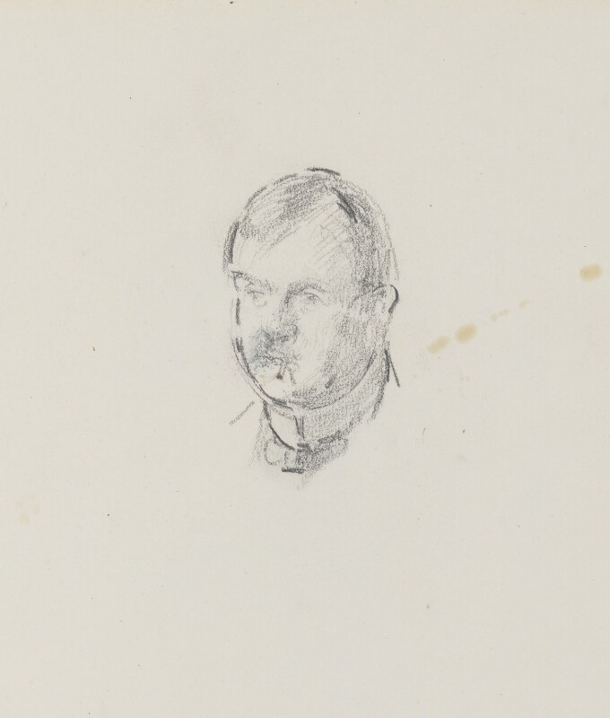 Philip Wilson Steer, by Henry Tonks, circa 1900-1932 - NPG 3072(3a) - © National Portrait Gallery, London