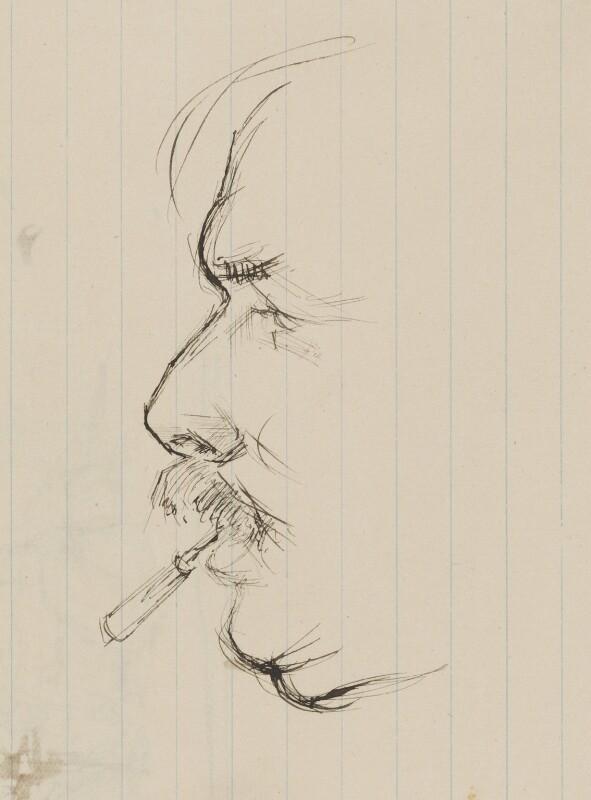 Philip Wilson Steer, by Henry Tonks, 1900-1925 - NPG 3072(1) - © National Portrait Gallery, London