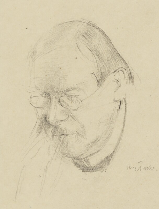 Philip Wilson Steer, by Henry Tonks, after 1920 - NPG 5088 - © National Portrait Gallery, London