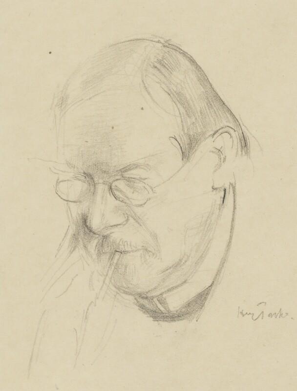 Philip Wilson Steer, by Henry Tonks, after 1920 - NPG 5088 - © National Portrait Gallery, London