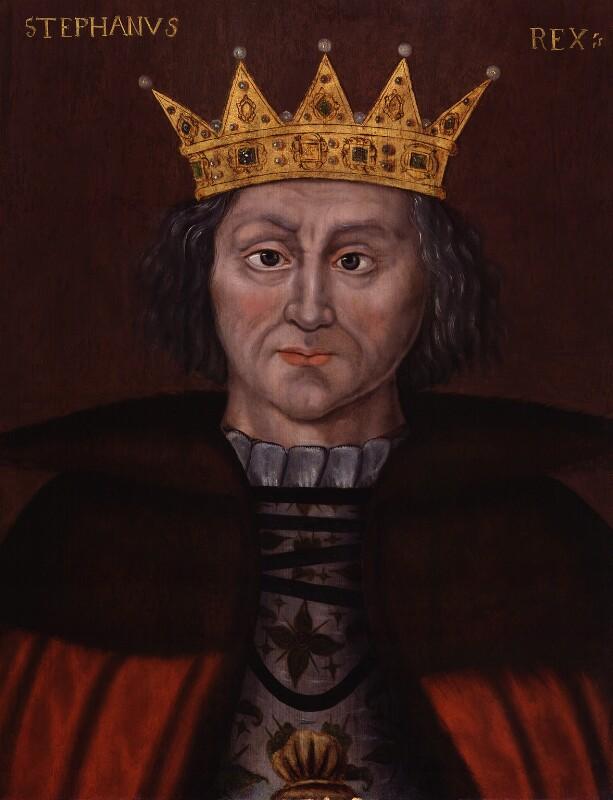 King Stephen, by Unknown artist, 1597-1618 - NPG 4980(3) - © National Portrait Gallery, London