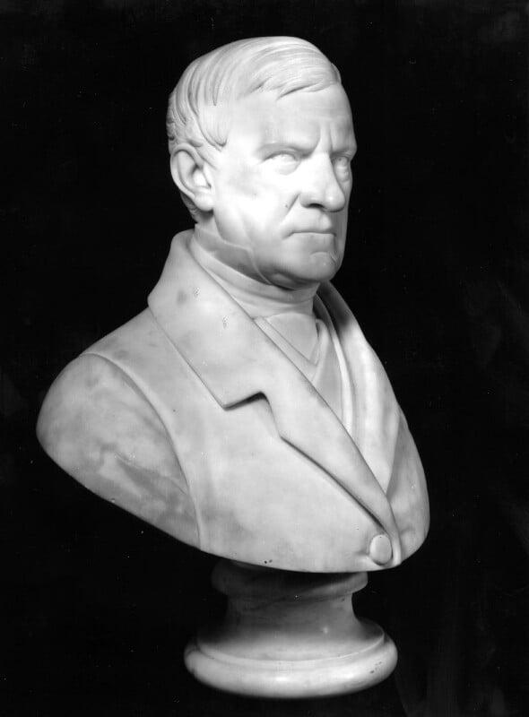 Sir James Stephen, by (Pietro) Carlo Giovanni Battista Marochetti, Baron Marochetti, 1858 - NPG 1029 - © National Portrait Gallery, London
