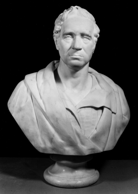 George Stephenson, by Joseph Pitts, 1846 -NPG 261 - © National Portrait Gallery, London