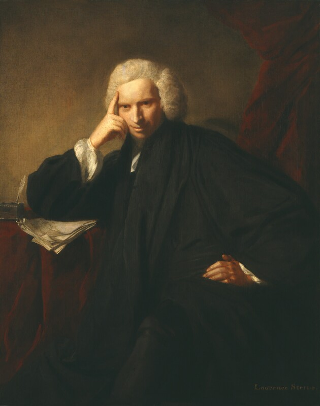 Laurence Sterne, by Sir Joshua Reynolds, 1760 -NPG 5019 - © National Portrait Gallery, London