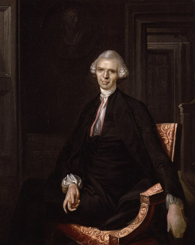 Laurence Sterne, by Unknown artist, circa 1760 -NPG 2022 - © National Portrait Gallery, London