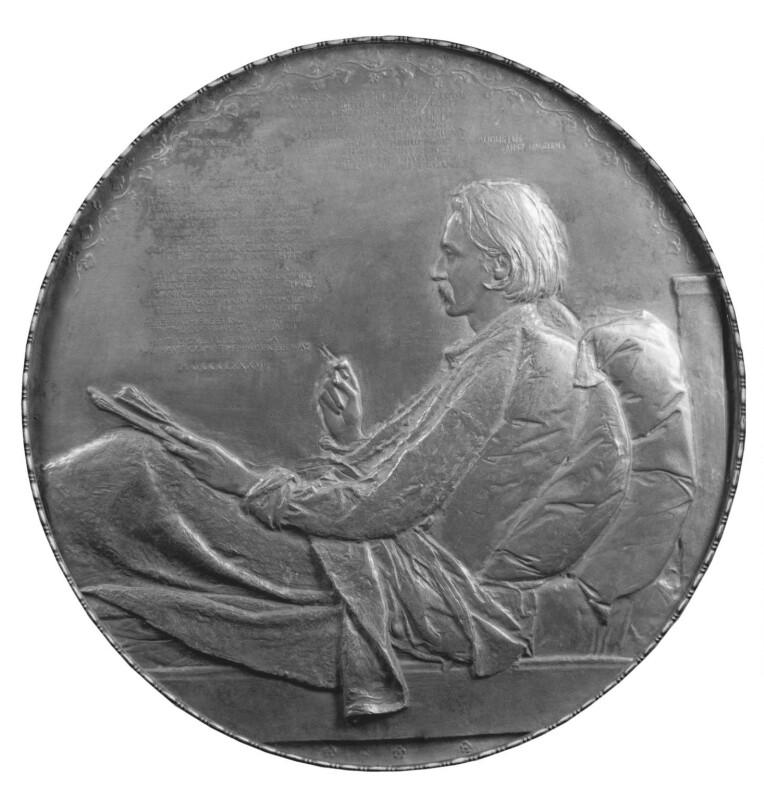 Robert Louis Stevenson, by Augustus Saint-Gaudens, 1887 - NPG 2349 - © National Portrait Gallery, London