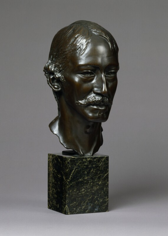 Robert Louis Stevenson, by Allen Hutchinson, 1893 - NPG 2454 - © National Portrait Gallery, London