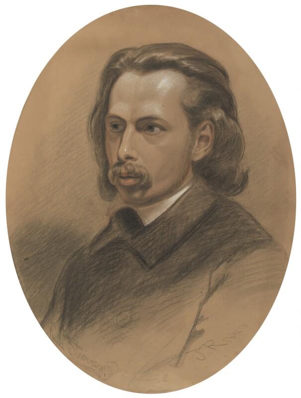 Unknown man, formerly known as Robert Louis Stevenson, by Unknown artist, 1880 - NPG 2687 - © National Portrait Gallery, London