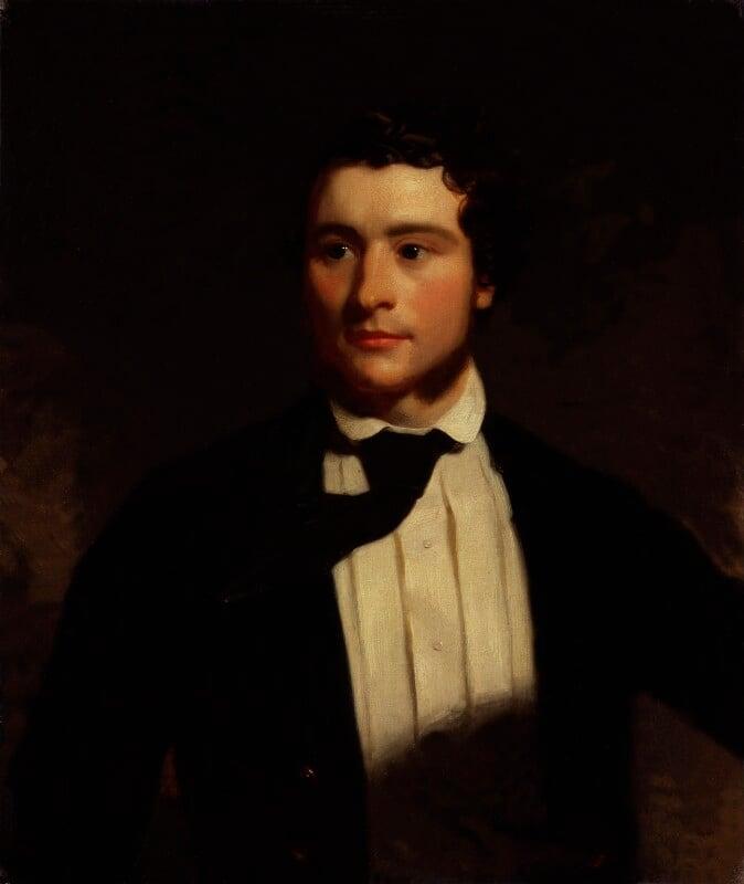Alexander Stewart, by Stephen Pearce, exhibited 1854 -NPG 1220 - © National Portrait Gallery, London