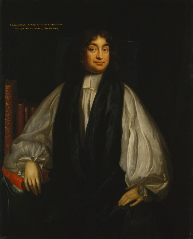 Edward Stillingfleet, by Unknown artist, circa 1690 - NPG 1389 - © National Portrait Gallery, London