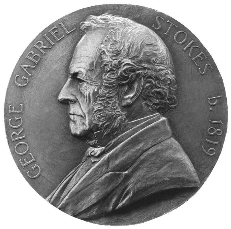 Sir George Gabriel Stokes, 1st Bt, by George William De Saulles, 1899 - NPG 2758 - © National Portrait Gallery, London