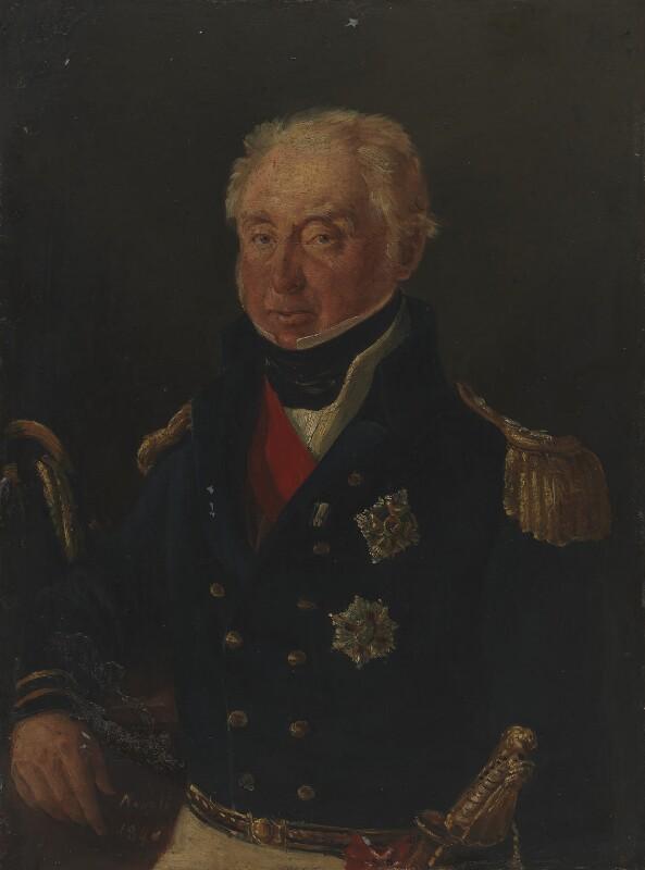 Sir Robert Stopford, by Unknown artist, 1840 - NPG 1774 - © National Portrait Gallery, London