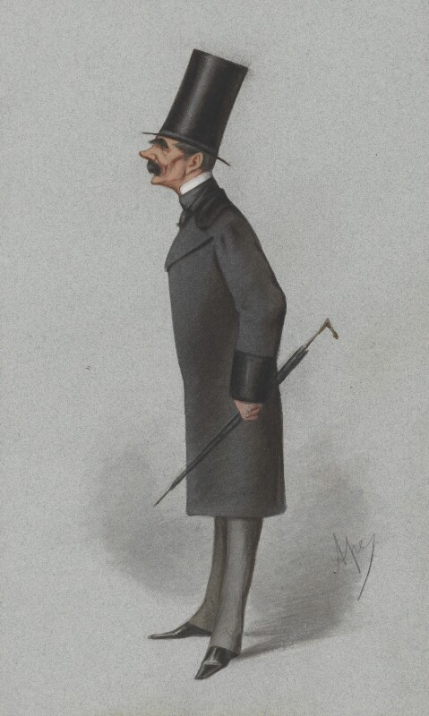 Sir Henry Knight Storks, by Carlo Pellegrini, published in Vanity Fair 24 December 1870 - NPG 2602 - © National Portrait Gallery, London