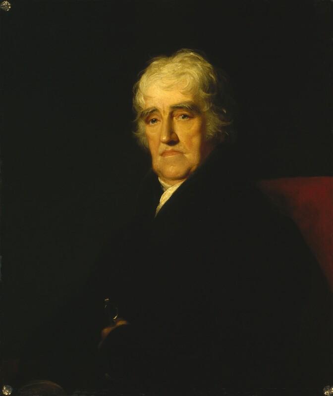 Thomas Stothard, by James Green, 1830 -NPG 2 - © National Portrait Gallery, London