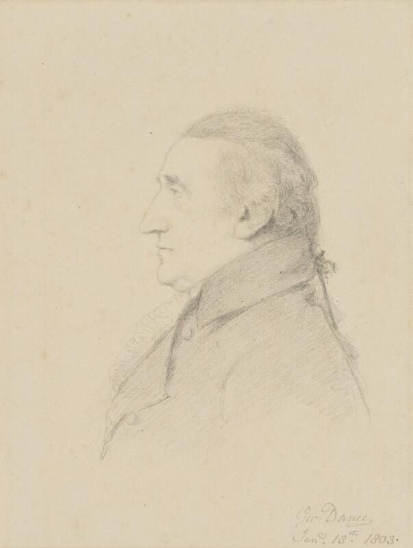 William Scott, Baron Stowell, by George Dance, 1803 -NPG 1156 - © National Portrait Gallery, London