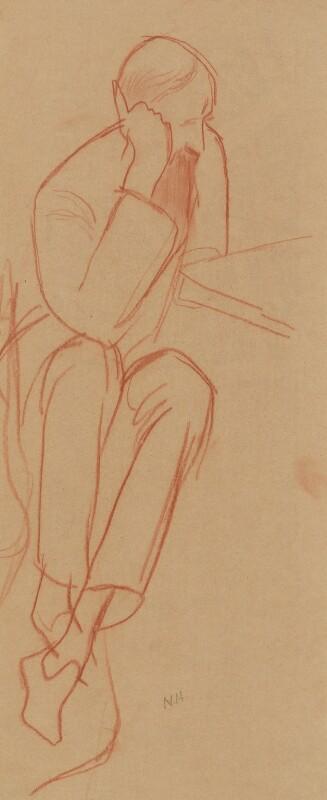 Lytton Strachey, by Nina Hamnett, circa 1917 - NPG 2215 - © reserved; collection National Portrait Gallery, London