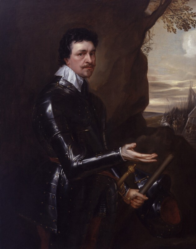 Thomas Wentworth, 1st Earl of Strafford, studio of Sir Anthony van Dyck, circa 1636 - NPG 4531 - © National Portrait Gallery, London
