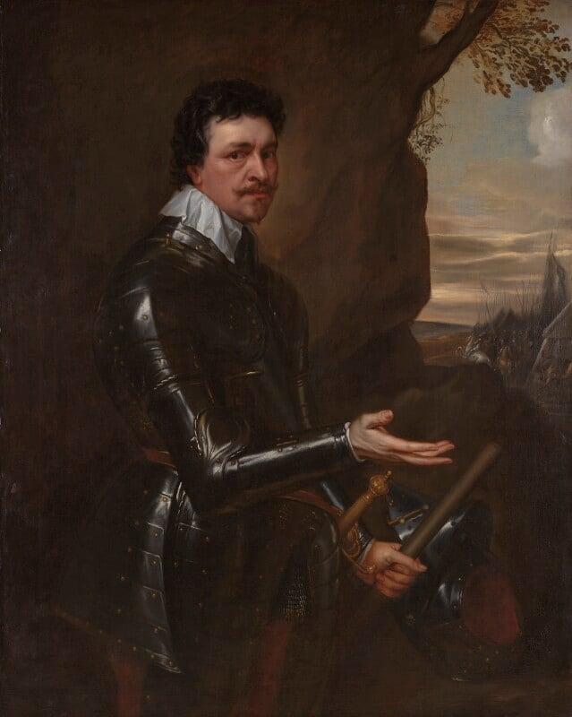 Thomas Wentworth, 1st Earl of Strafford, studio of Sir Anthony van Dyck, circa 1636 - NPG 4531 - © National Portrait Gallery, London