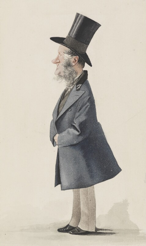 George Henry Charles Byng, 3rd Earl of Strafford, by Adriano Cecioni, published in Vanity Fair 14 September 1872 - NPG 3272 - © National Portrait Gallery, London