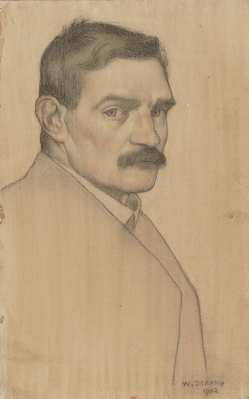 William Strang, by William Strang, 1902 - NPG 2927 - © National Portrait Gallery, London