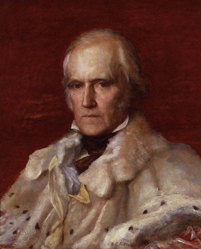 Stratford Canning, Viscount Stratford de Redcliffe, by George Frederic Watts, 1856-1857 -NPG 684 - © National Portrait Gallery, London