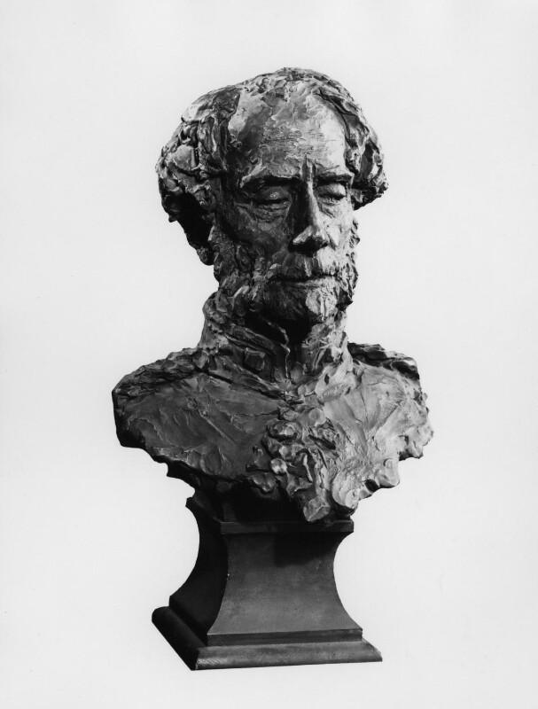 Hugh Henry Rose, Baron Strathnairn, by (Edward) Onslow Ford, circa 1895 -NPG 1331 -