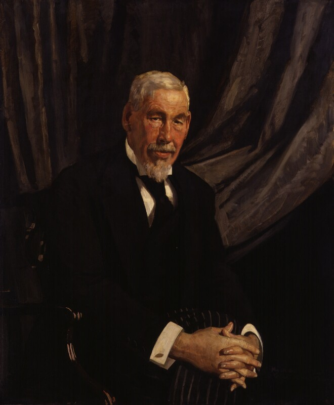 Sir John Struthers, by Maurice William Greiffenhagen, 1922 - NPG 3141 - © National Portrait Gallery, London
