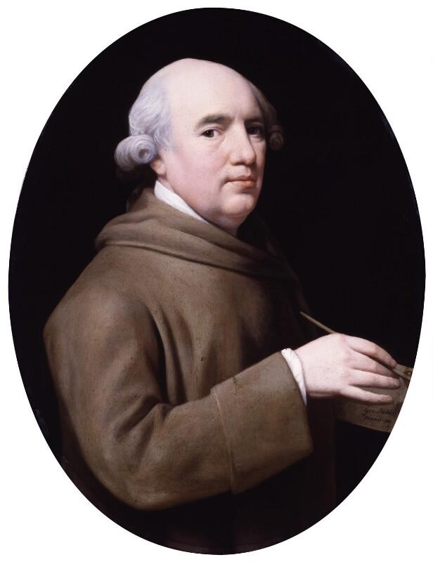 George Stubbs, by George Stubbs, 1781 - NPG 4575 - © National Portrait Gallery, London