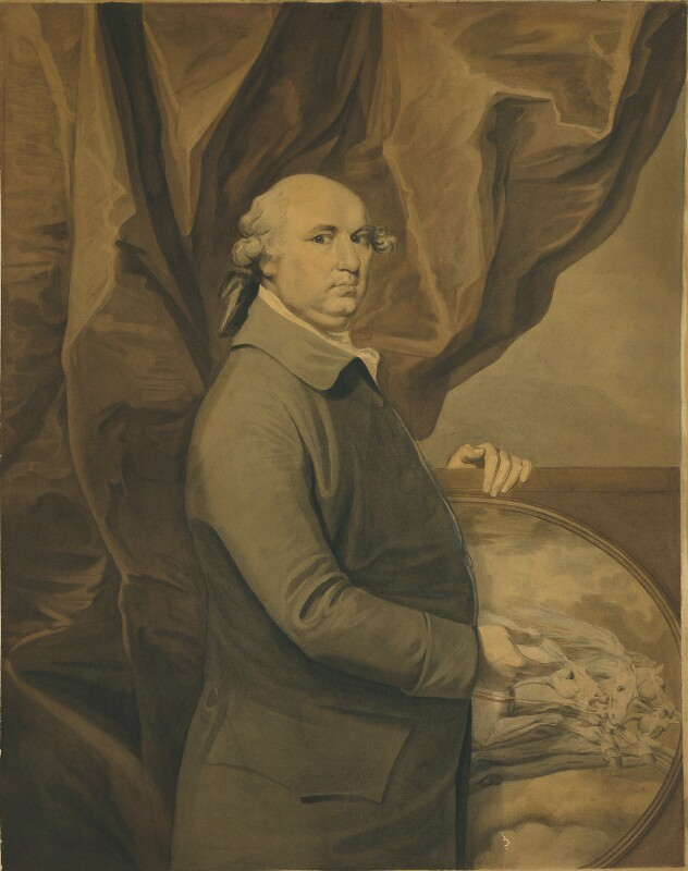 George Stubbs, by Ozias Humphry, 1777-1779 -NPG 1399 - © National Portrait Gallery, London