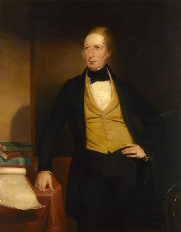 Charles Sturt, by John Michael Crossland, circa 1853 -NPG 3302 - © National Portrait Gallery, London
