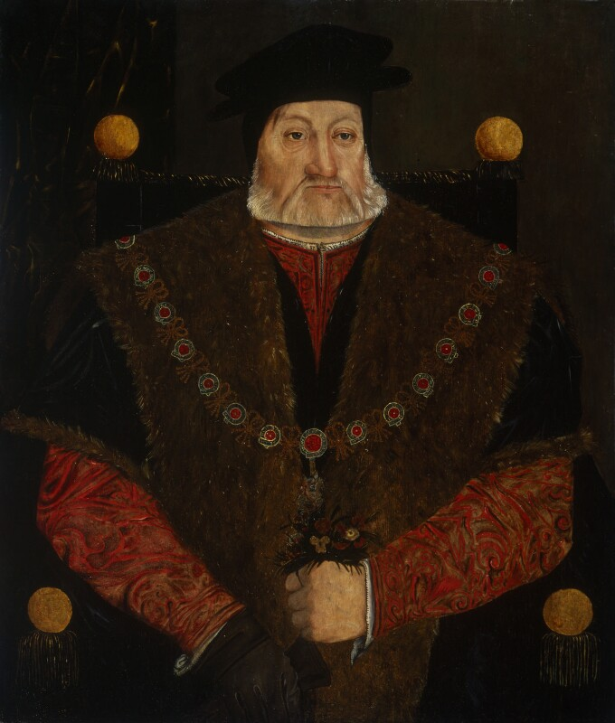 Charles Brandon, 1st Duke of Suffolk, by Unknown artist, circa 1540-1545 - NPG 516 - © National Portrait Gallery, London