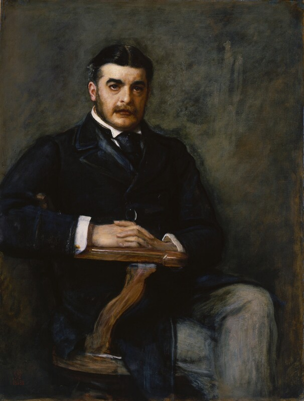 Sir Arthur Seymour Sullivan, by Sir John Everett Millais, 1st Bt, 1888 - NPG 1325 - © National Portrait Gallery, London
