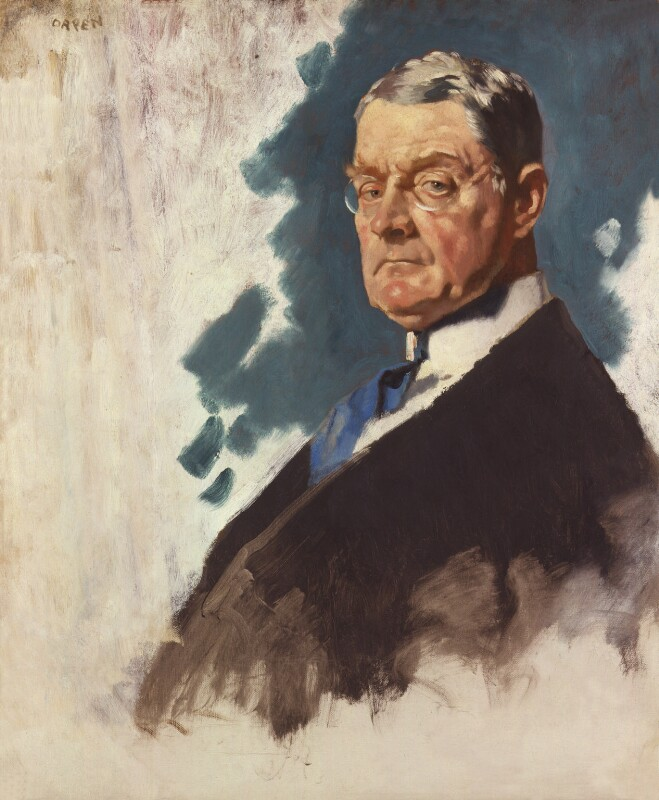 John Andrew Hamilton, Viscount Sumner, by Sir William Orpen, 1919 - NPG 2760 - © National Portrait Gallery, London