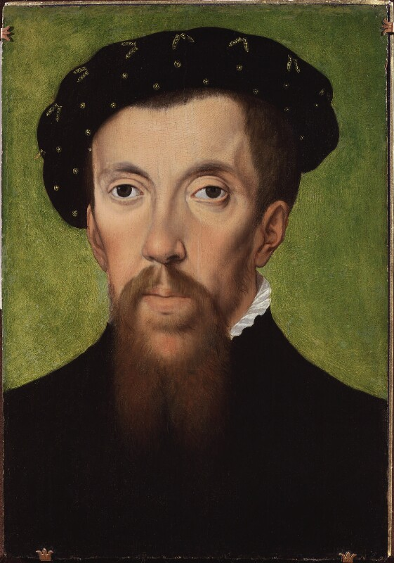 Henry Howard, Earl of Surrey, after William Scrots, circa 1570-1580s, based on a work of 1546 - NPG 4952 - © National Portrait Gallery, London