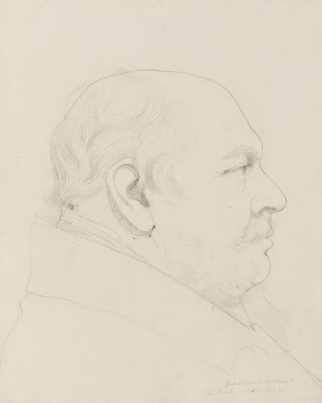 Prince Augustus Frederick, Duke of Sussex, by Sir Francis Leggatt Chantrey, 1829-1830 - NPG 316a(119) - © National Portrait Gallery, London