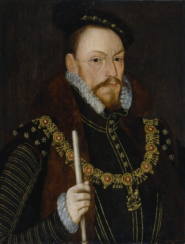Thomas Radcliffe, 3rd Earl of Sussex, after Unknown artist, late 16th century, based on a work of circa 1565 - NPG 105 - © National Portrait Gallery, London