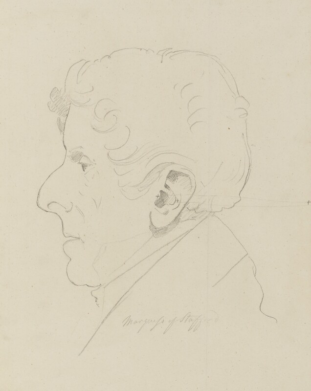 George Granville Leveson-Gower, 1st Duke of Sutherland, by Sir Francis Leggatt Chantrey, 1828 - NPG 316a(118) - © National Portrait Gallery, London