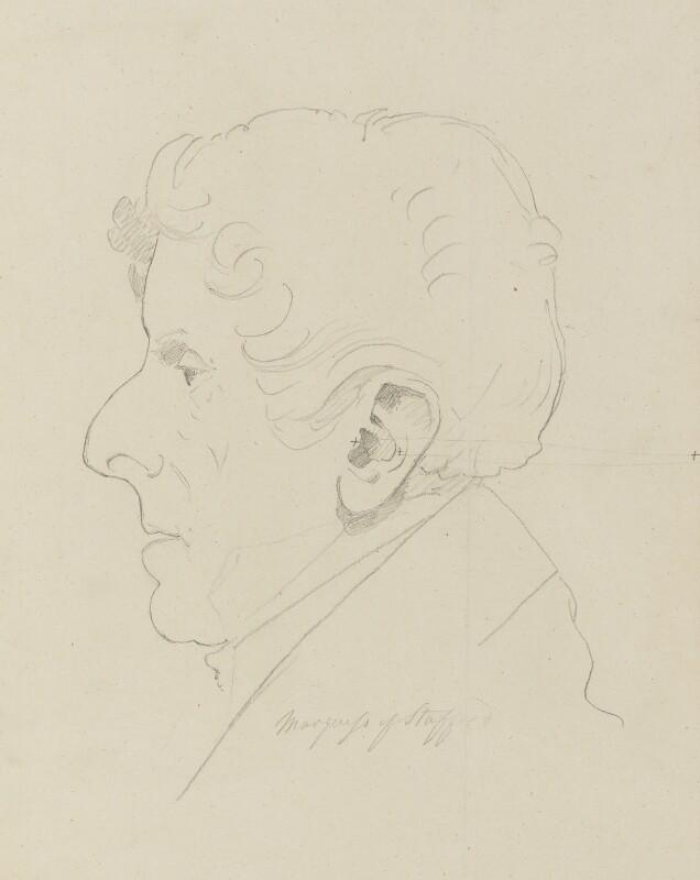 George Granville Leveson-Gower, 1st Duke of Sutherland, by Sir Francis Leggatt Chantrey, 1828 - NPG 316a(118) - © National Portrait Gallery, London