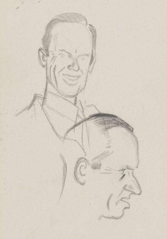 Graham Sutherland, by Sir David Low, circa 1949 - NPG 4529(356) - © Solo Syndication Ltd