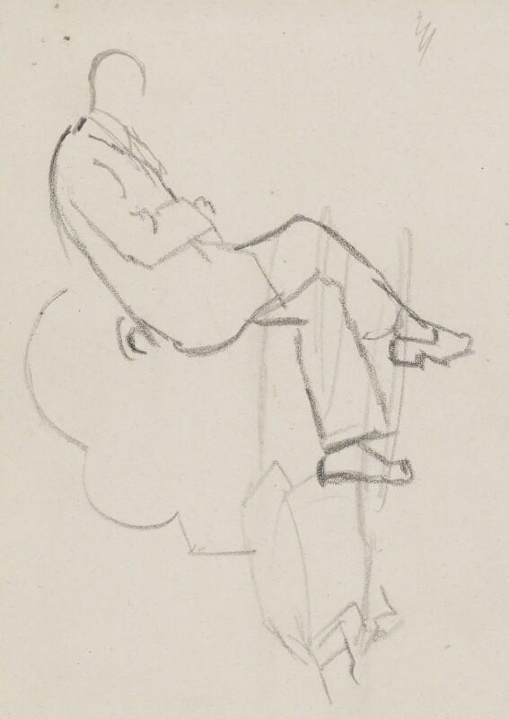 Graham Vivian Sutherland, by Sir David Low, circa 1949 - NPG 4529(354) - © Solo Syndication Ltd