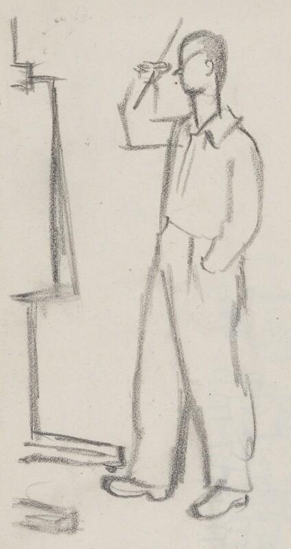 Graham Sutherland, by Sir David Low, circa 1949 - NPG 4529(357) - © Solo Syndication Ltd