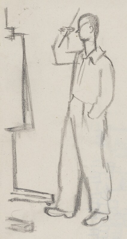 Graham Vivian Sutherland, by Sir David Low, circa 1949 - NPG 4529(357) - © Solo Syndication Ltd
