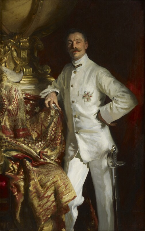 Sir Frank (Athelstane) Swettenham, by John Singer Sargent, 1904 - NPG 4837 - © National Portrait Gallery, London